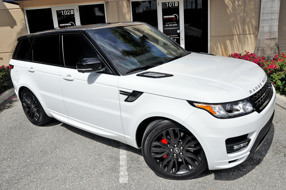 2014 land rover range rover sport supercharged autobiography autobiography stock 5655 for sale. Black Bedroom Furniture Sets. Home Design Ideas