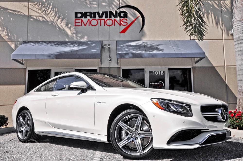 2015 mercedes benz s63 amg 4matic coupe 63 amg coupe stock 5729 for sale near lake park fl. Black Bedroom Furniture Sets. Home Design Ideas
