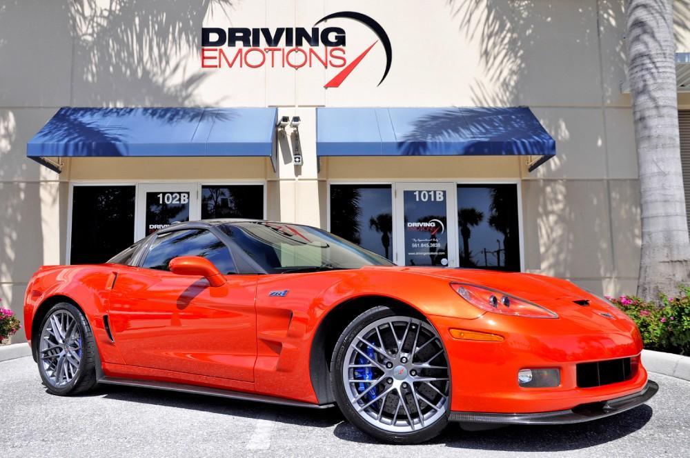 2011 Chevrolet Corvette Zr1 Zr 1 Coupe Stock 5780 For
