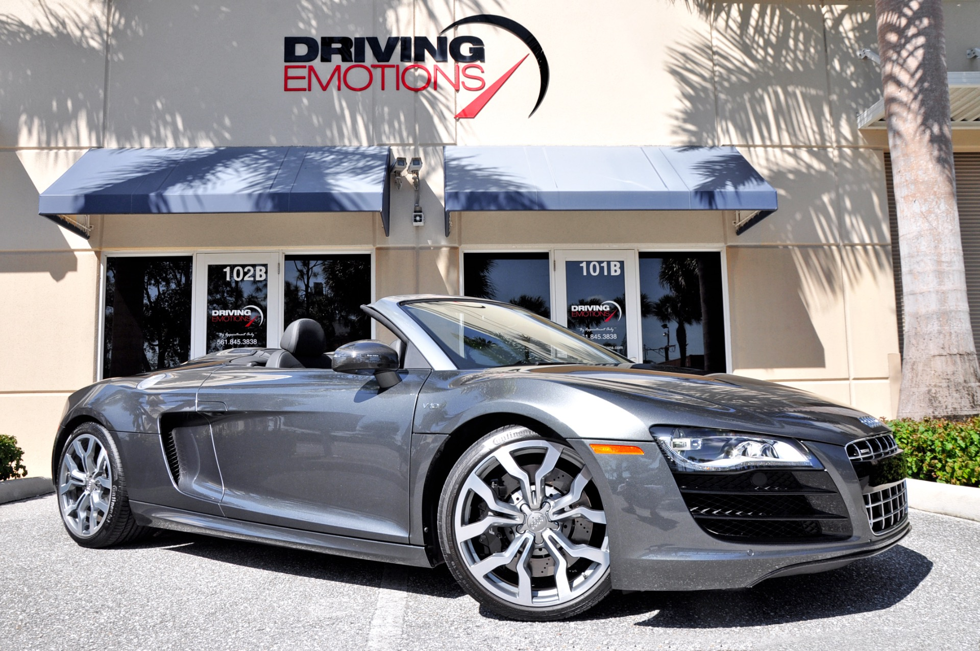 2012 audi r8 5 2 v10 spyder quattro stock 5903 for sale. Black Bedroom Furniture Sets. Home Design Ideas