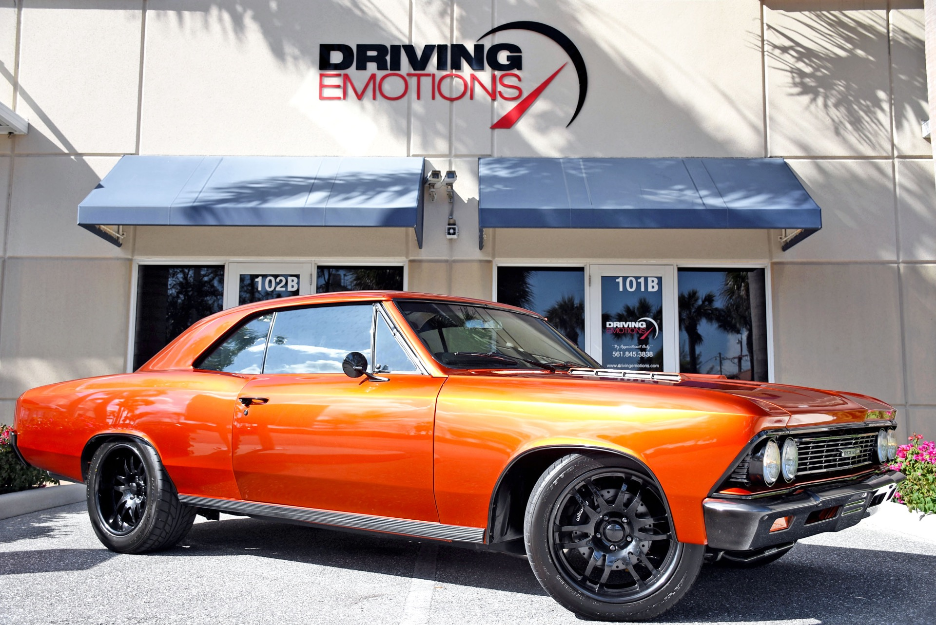 1966 Chevrolet Chevelle Resto Mod Stock 5918 For Sale