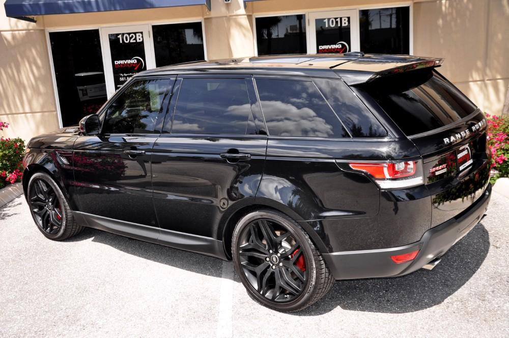 Range Rover Autobiography 2014 Red Interior