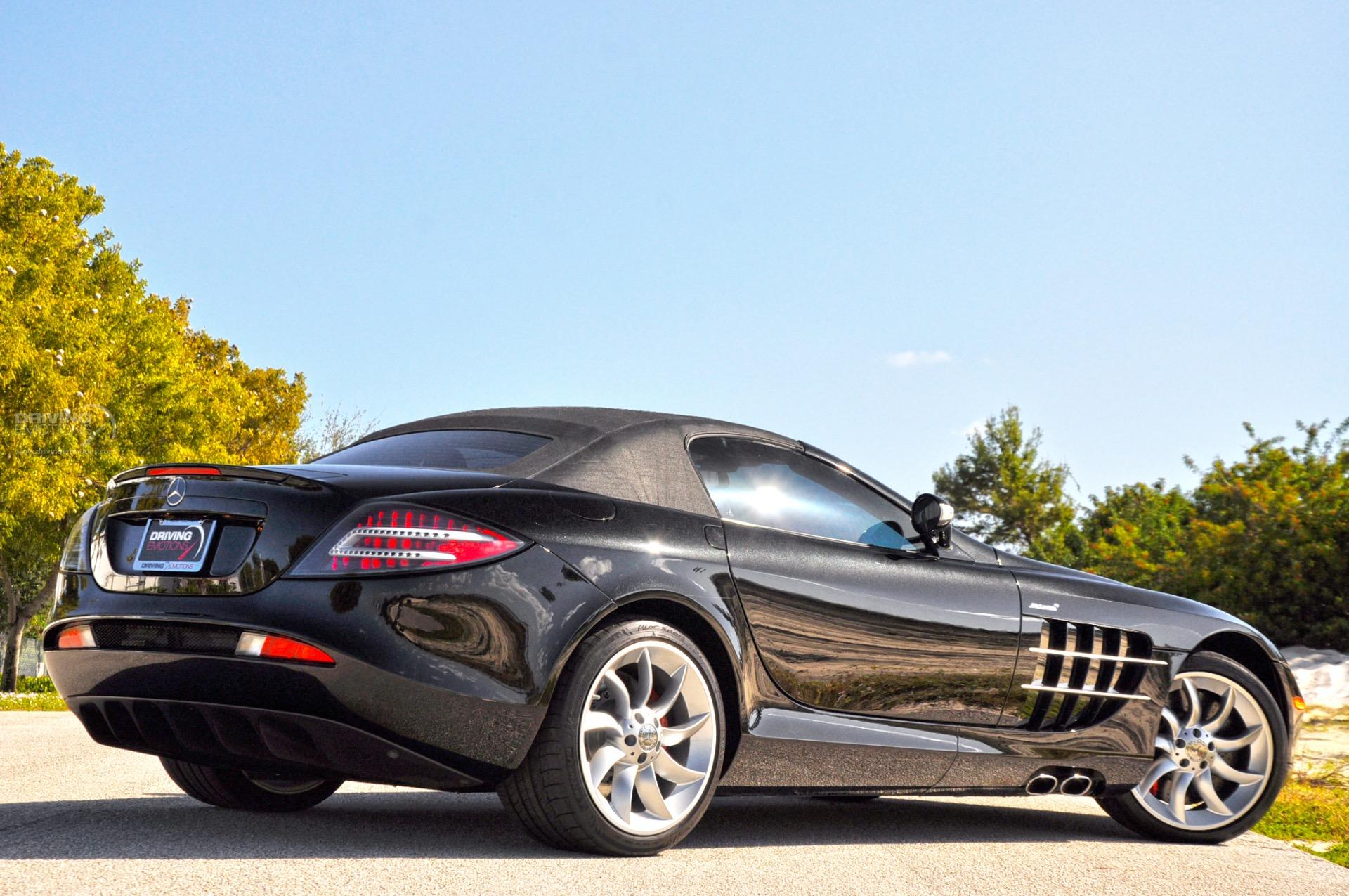 2009 mercedes benz slr mclaren roadster roadster stock for 2009 mercedes benz slr mclaren price