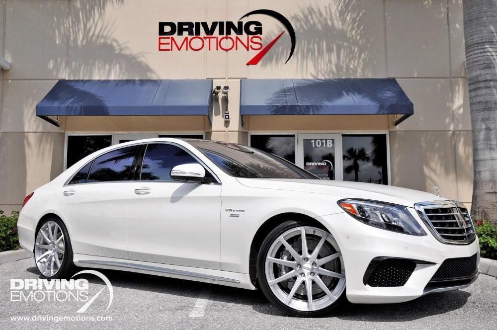 Used 2014 Mercedes Benz S63 AMG RENNtech 63 RENNtech | Lake Park, FL