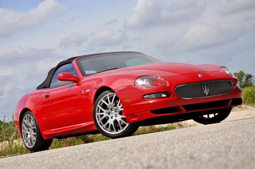 2006 Maserati GranSport Spyder Spyder Stock # 5717 for sale near Lake Park, FL | FL Maserati Dealer