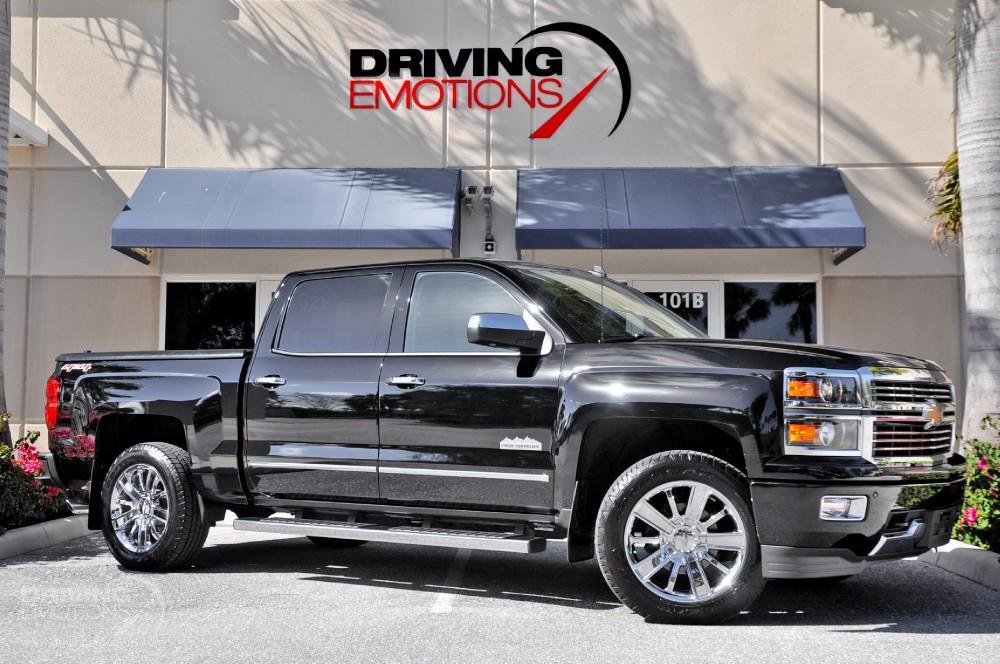 2014 Chevrolet Silverado 1500 High Country 4x4 6 2l Crew Cab High