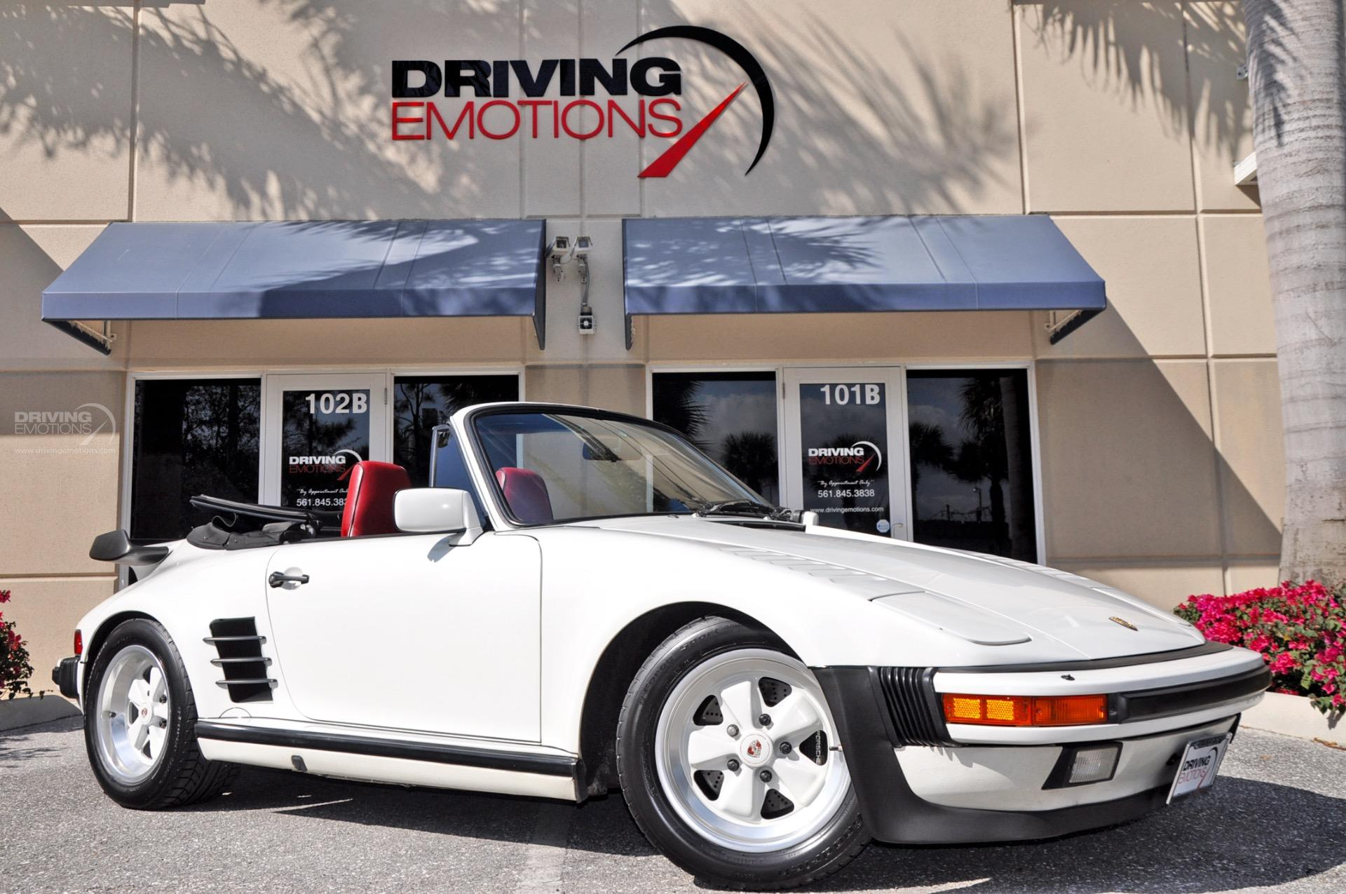 1987 Porsche 911 930 Turbo Cabriolet Slant Nose Carrera Turbo Slant Nose Stock 5751 For Sale Near Lake Park Fl Fl Porsche Dealer