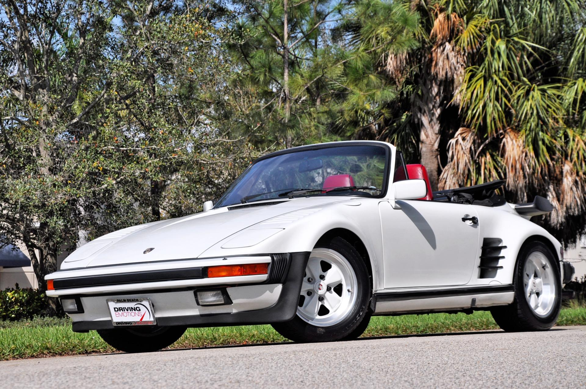 Used 1987 Porsche 911 930 Turbo Cabriolet Slant Nose Carrera Turbo Slant Nose | Lake Park, FL