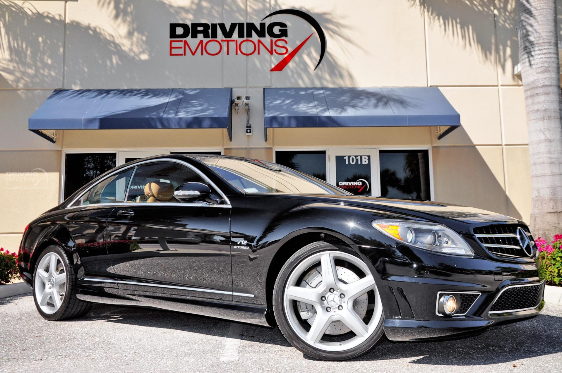 Used 2008 mercedes benz cl65 amg cl65 amg v12 biturbo lake park fl