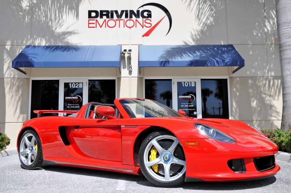 2004 Porsche Carrera Gt Stock 5797 For Sale Near Lake Park Fl