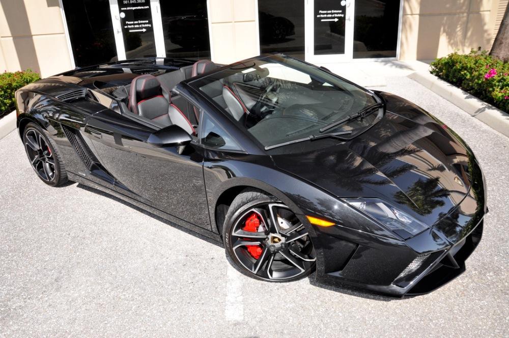 used 2013 lamborghini gallardo lp560 4 spyder lp 560 4 spyder lake park - Lamborghini Gallardo Spyder Black 2013