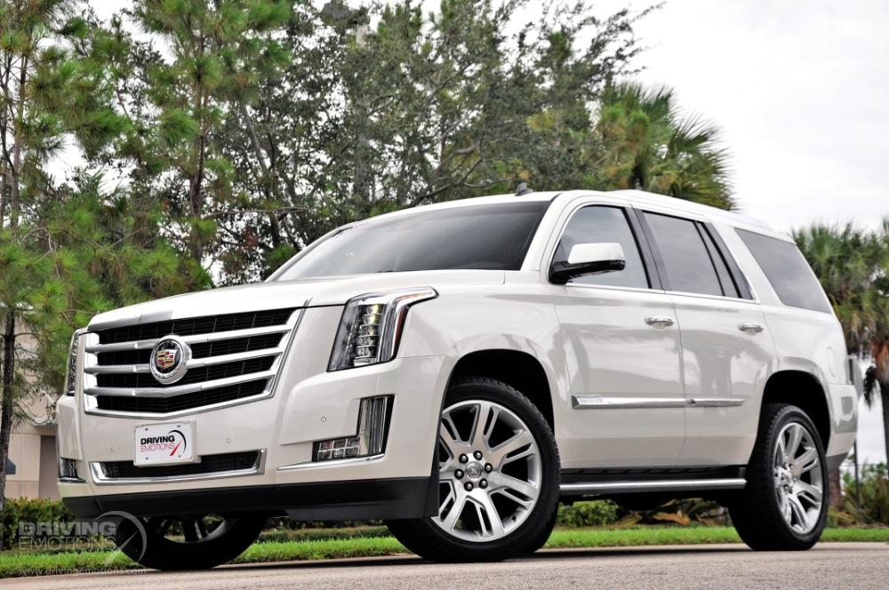 2015 cadillac escalade luxury 4x4 stock 5809 for sale near lake park fl fl cadillac dealer. Black Bedroom Furniture Sets. Home Design Ideas