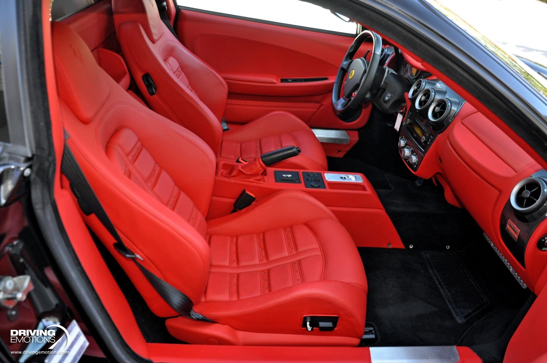 Used 2008 Ferrari F430 Coupe BLACK/RED! | Lake Park, FL
