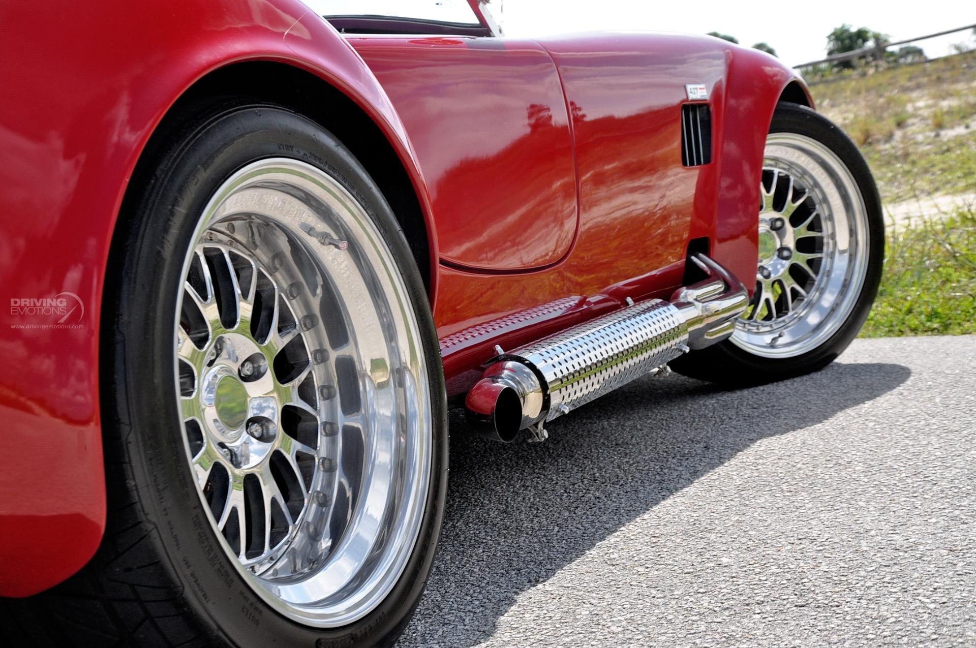 Absolutely Free Car History Report >> 1965 Backdraft Racing Shelby Cobra Roadster Replica Roadster Stock # 5829 for sale near Lake ...