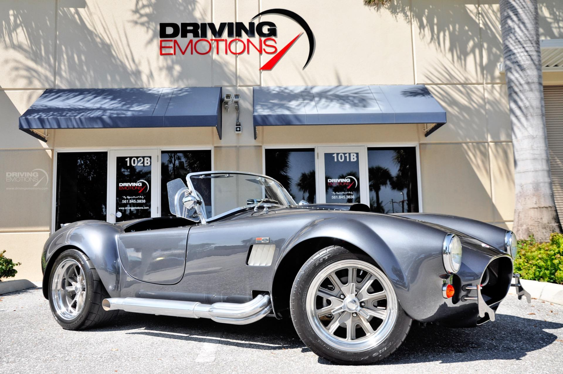 Used 1965 backdraft racing shelby cobra roadster replica roadster lake park fl