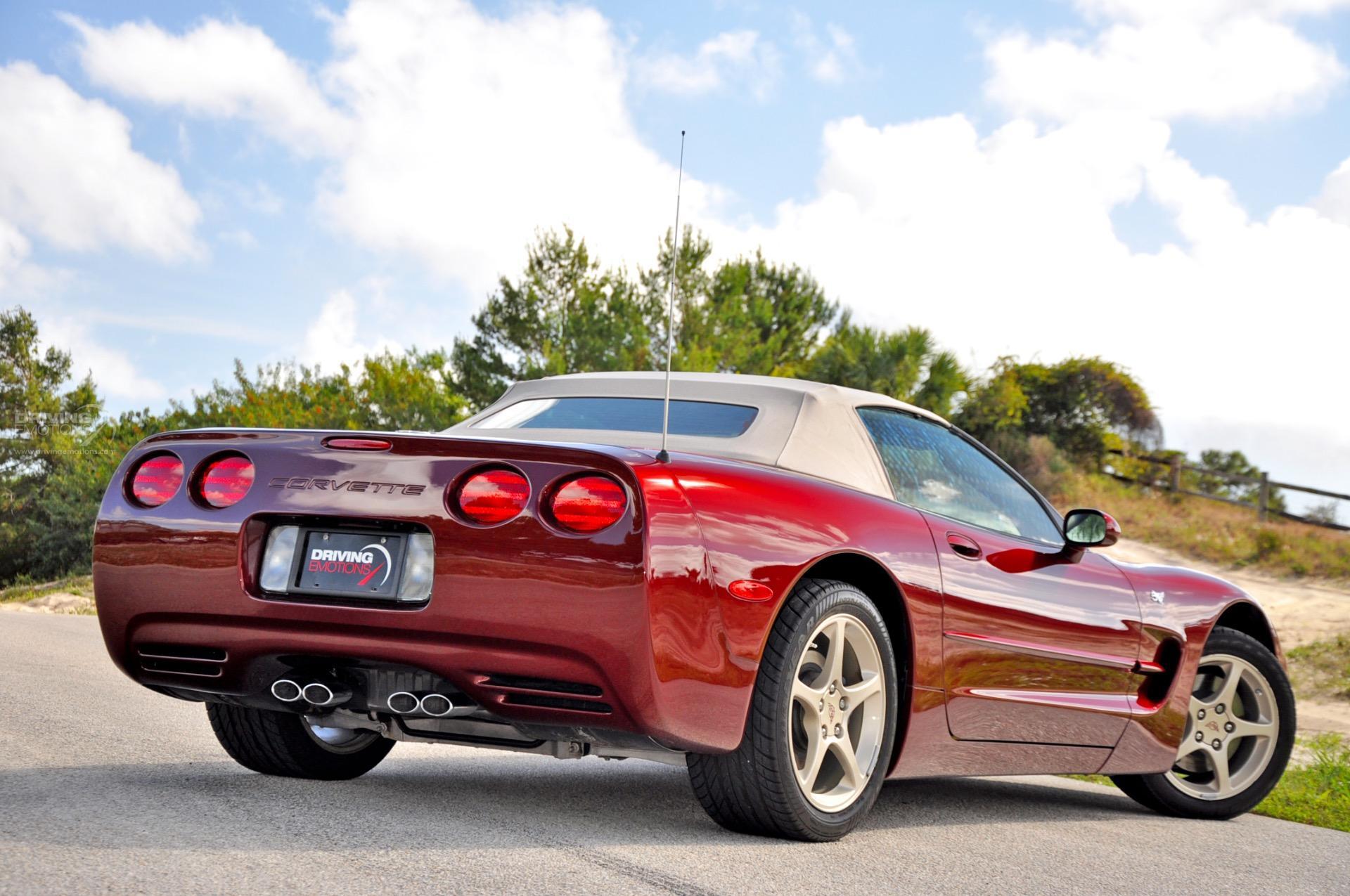 2003 Chevrolet Corvette Convertible 50th Anniversary