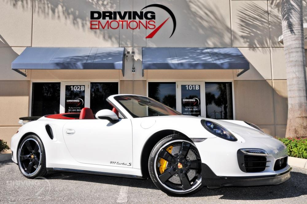 2016 Porsche 911 Turbo S Cabriolet Turbo S Stock 5844 For Sale