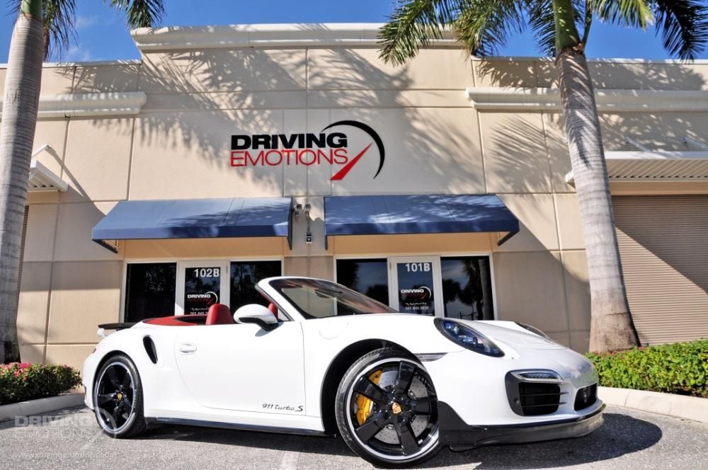 2016 Porsche 911 Turbo S Cabriolet Turbo S Stock 5844 For Sale Near Lake Park Fl Fl Porsche Dealer