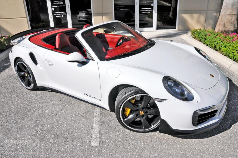 2016 Porsche 911 Turbo S Cabriolet Turbo S Stock 5844 For