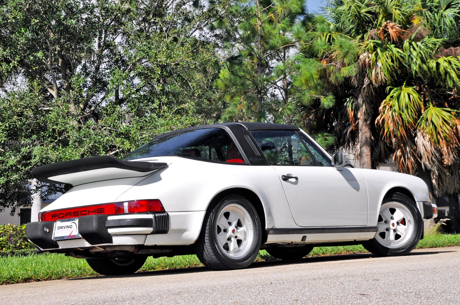 1986 Porsche 911 Targa Carrera Targa Stock 5845 For Sale