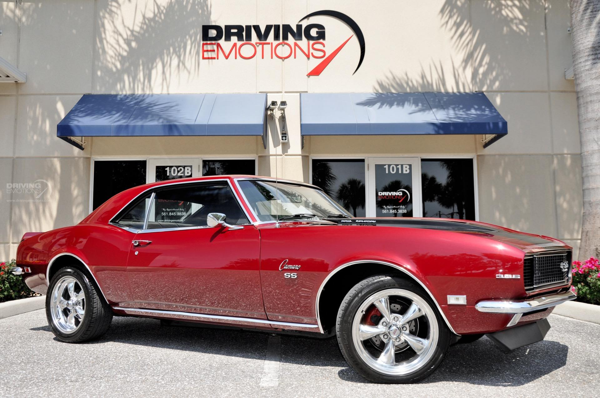 1968 Chevrolet Camaro SS SS Stock # 5879 for sale near Lake Park, FL ...