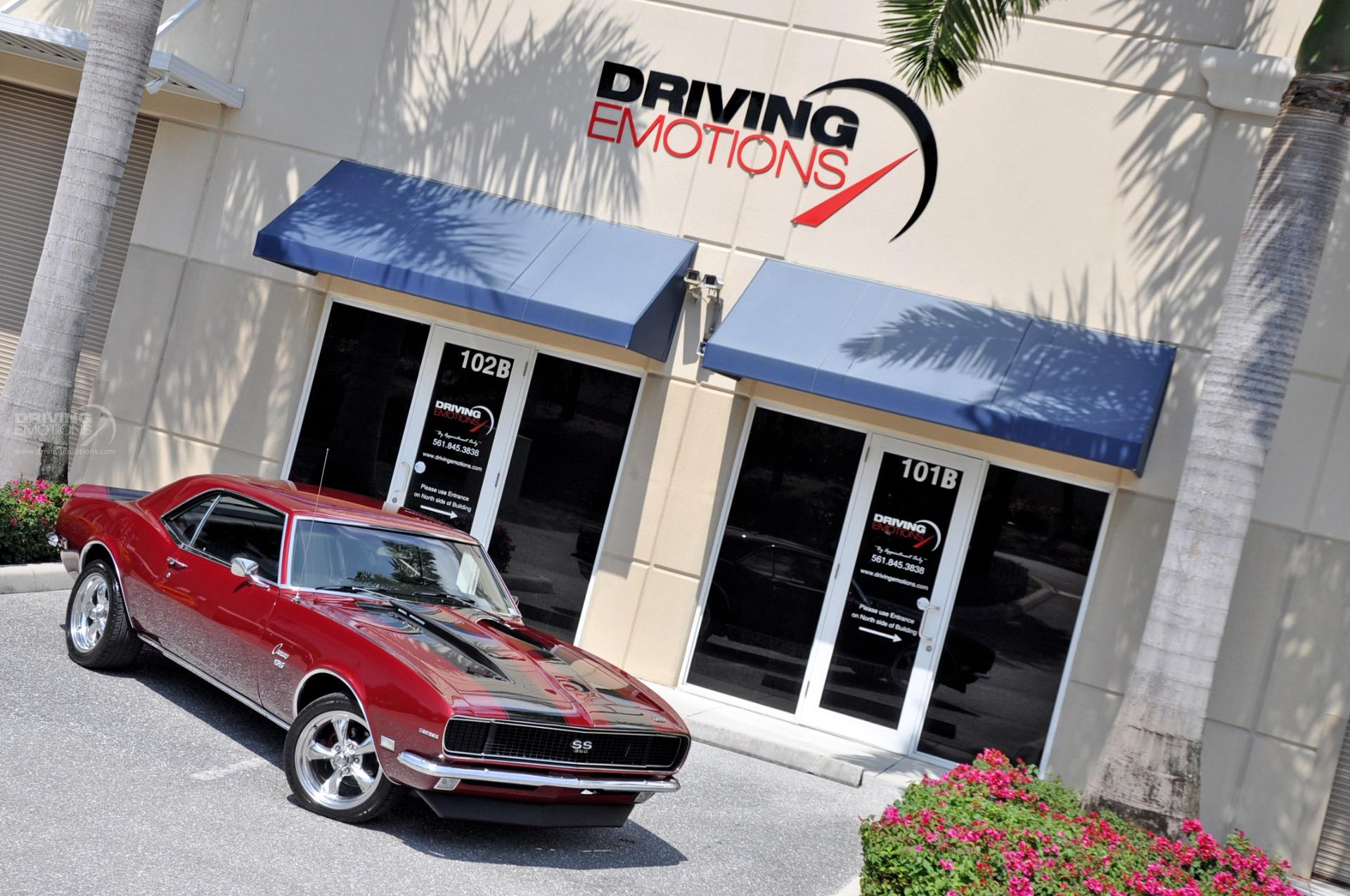 1968 Chevrolet Camaro Ss Ss Stock 5879 For Sale Near Lake Park Fl Fl Chevrolet Dealer