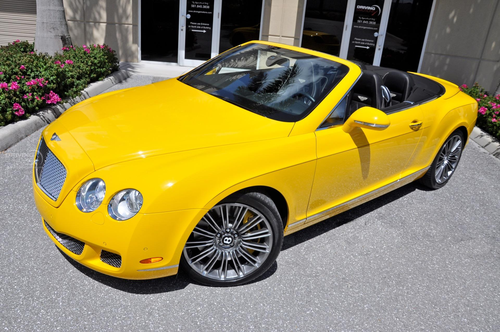 2010 Bentley Continental GTC Speed GTC Speed Stock 5887 for sale