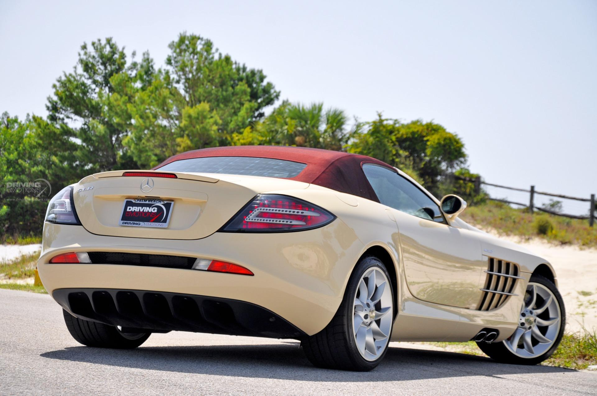 2009 mercedes benz slr mclaren roadster convertible 2 door. Black Bedroom Furniture Sets. Home Design Ideas