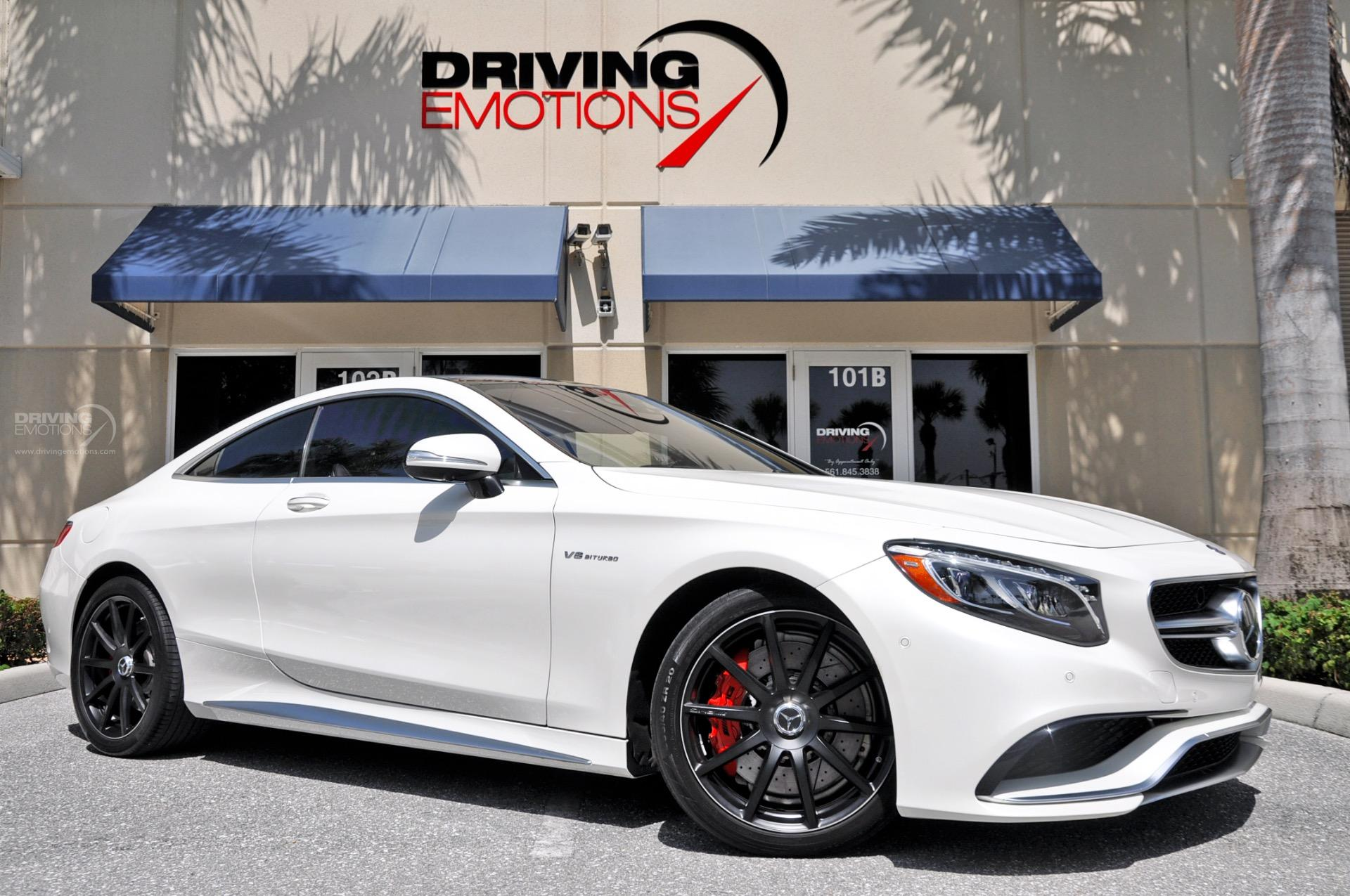 2015 MercedesBenz S63 AMG 4MATIC Coupe S63 AMG Stock  5893 for