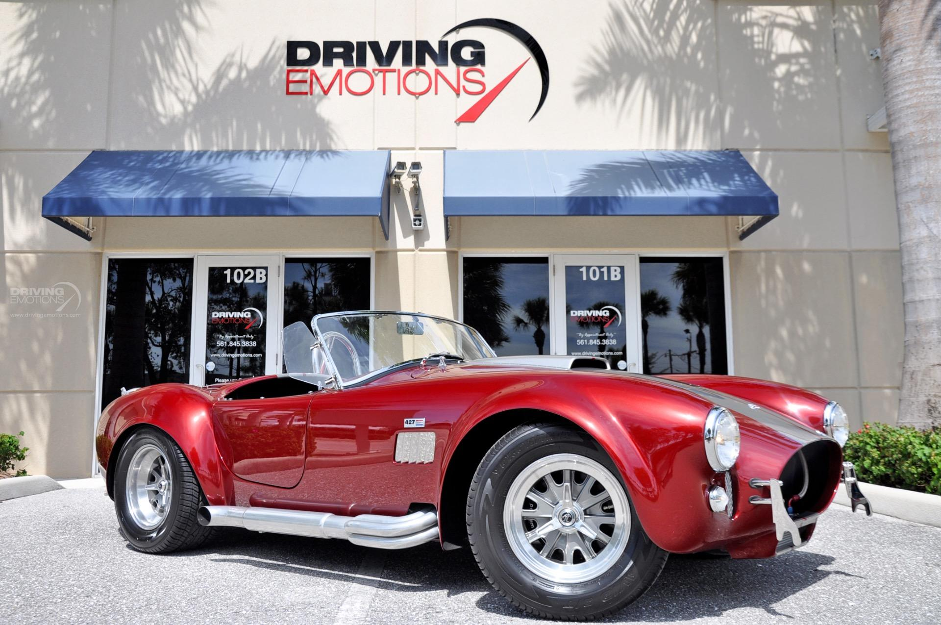 1965 Shelby Cobra Superformance MKIII Cobra: 1965 SUPERFORMANCE COBRA MKIII SHELBY COBRA REPLICA! 427 ROUSH! LOW MILES! RARE!