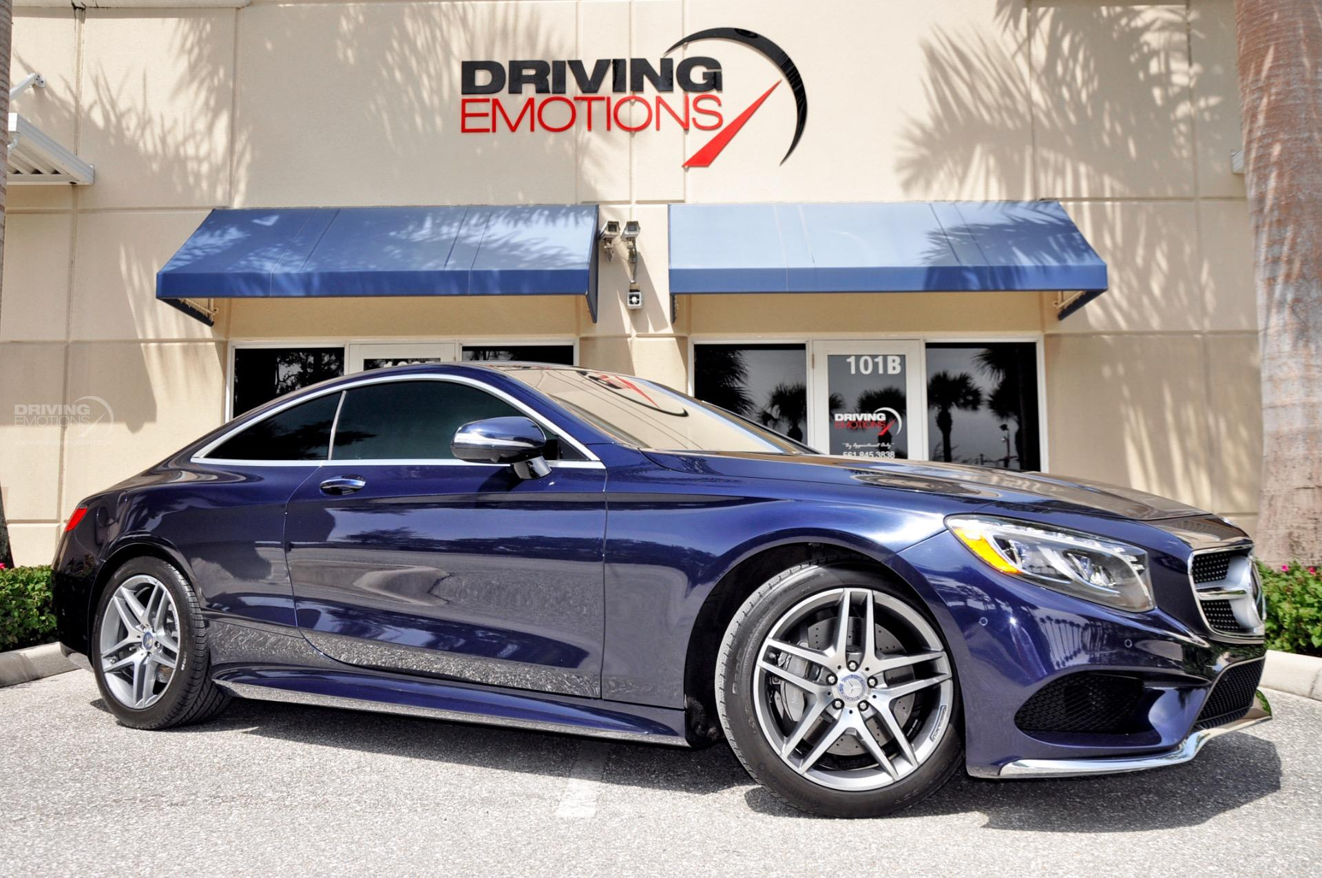 2015 Mercedes Benz S550 4MATIC Coupe S550 4MATIC Stock 5899 for