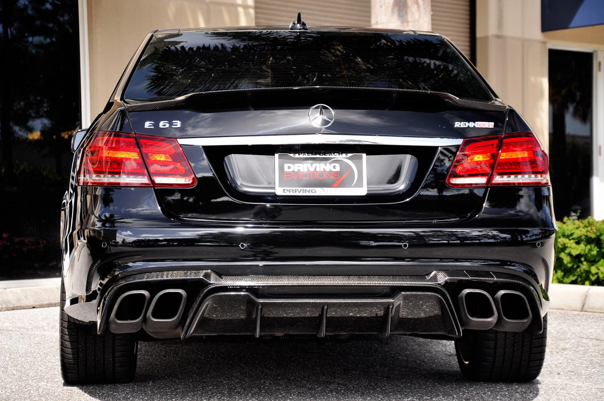 2014 Mercedes-Benz E63 AMG-S RENNtech E63 AMG S-Model Stock # 5904