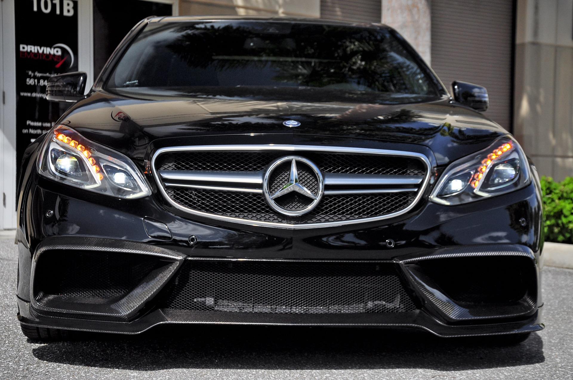 Black 2014 Mercedes-Benz E63 AMG S