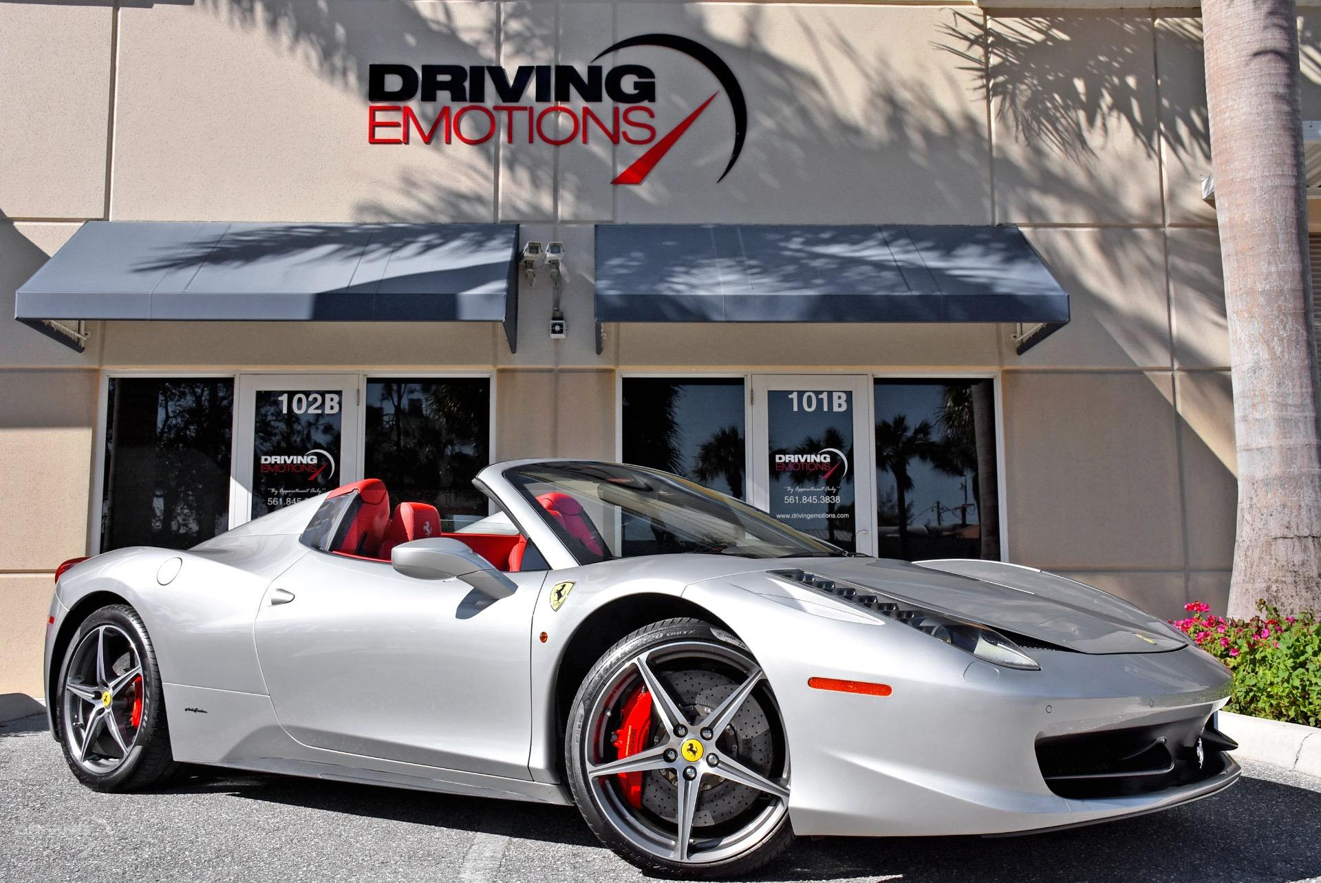 Used 2012 Ferrari 458 Spider | Lake Park, FL