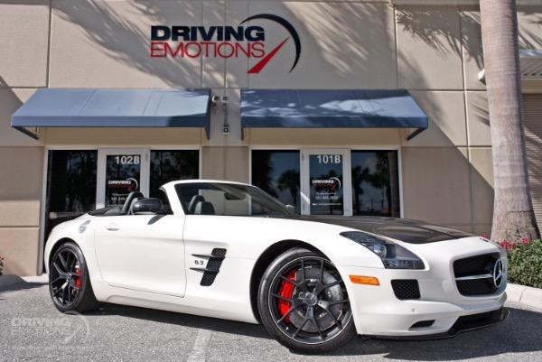 Used 2015 Mercedes Benz SLS AMG GT Roadster Final Edition Lake Park, FL