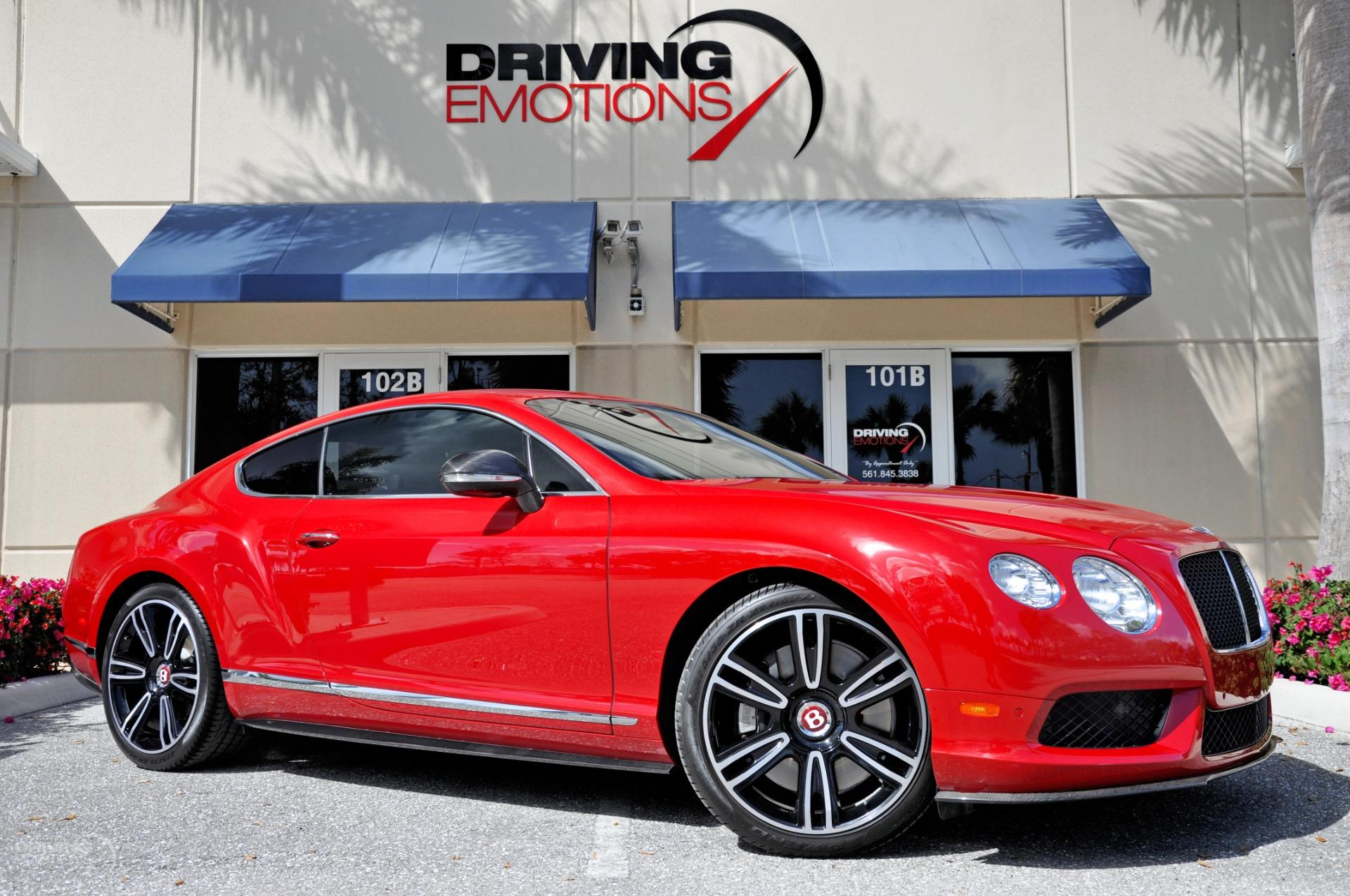 2013 bentley continental gt v8 coupe stock 5929 for sale near used 2013 bentley continental gt v8 coupe lake park fl vanachro Choice Image