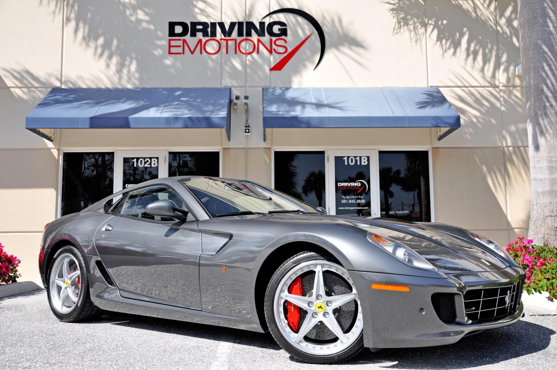 2011 Ferrari 599 Gtb Fiorano F1 Hgte Stock 5933 For Sale Near Lake Park Fl Fl Ferrari Dealer