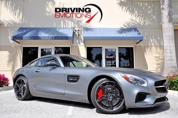 Used 2016 Mercedes Benz AMG GT S Lake Park, FL