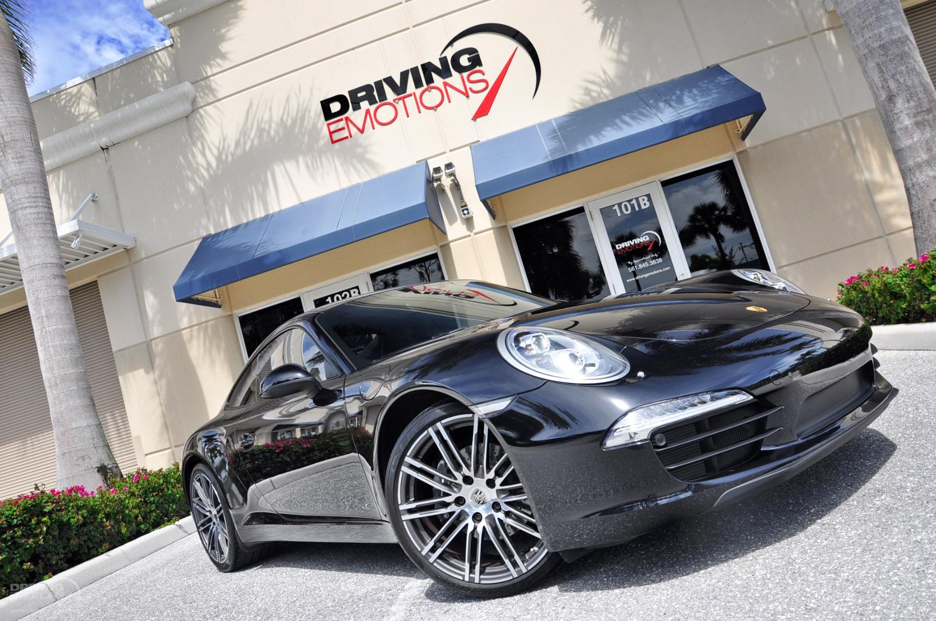 Used 2016 Porsche 911 Carrera Black Edition Coupe Lake Park Fl