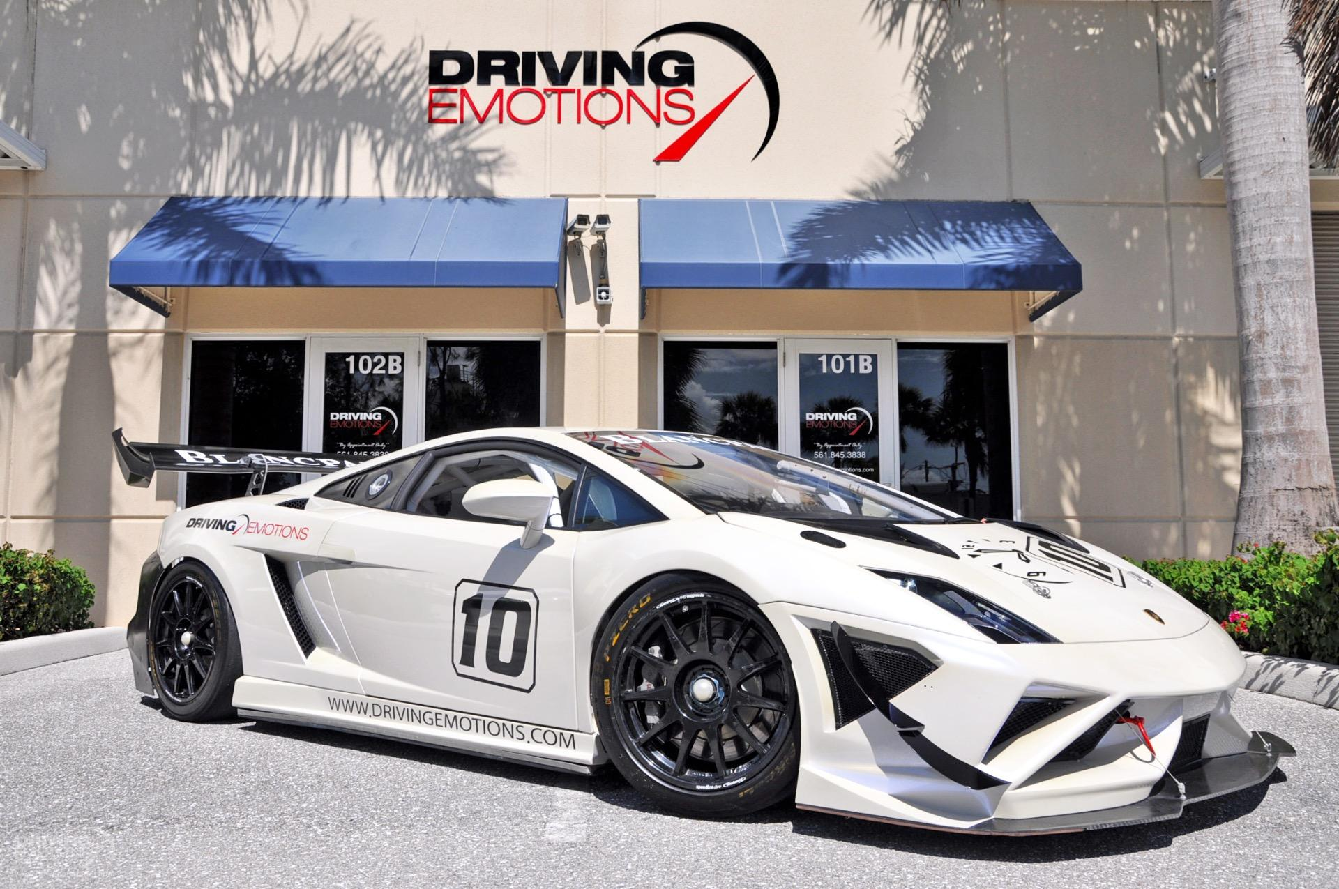 2013 Lamborghini Gallardo LP570,4 Super Trofeo Race Car