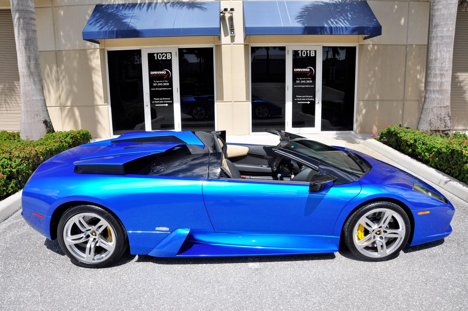 Used 2006 Lamborghini Murcielago Roadster 6-SPEED MANUAL!! | Lake Park, FL