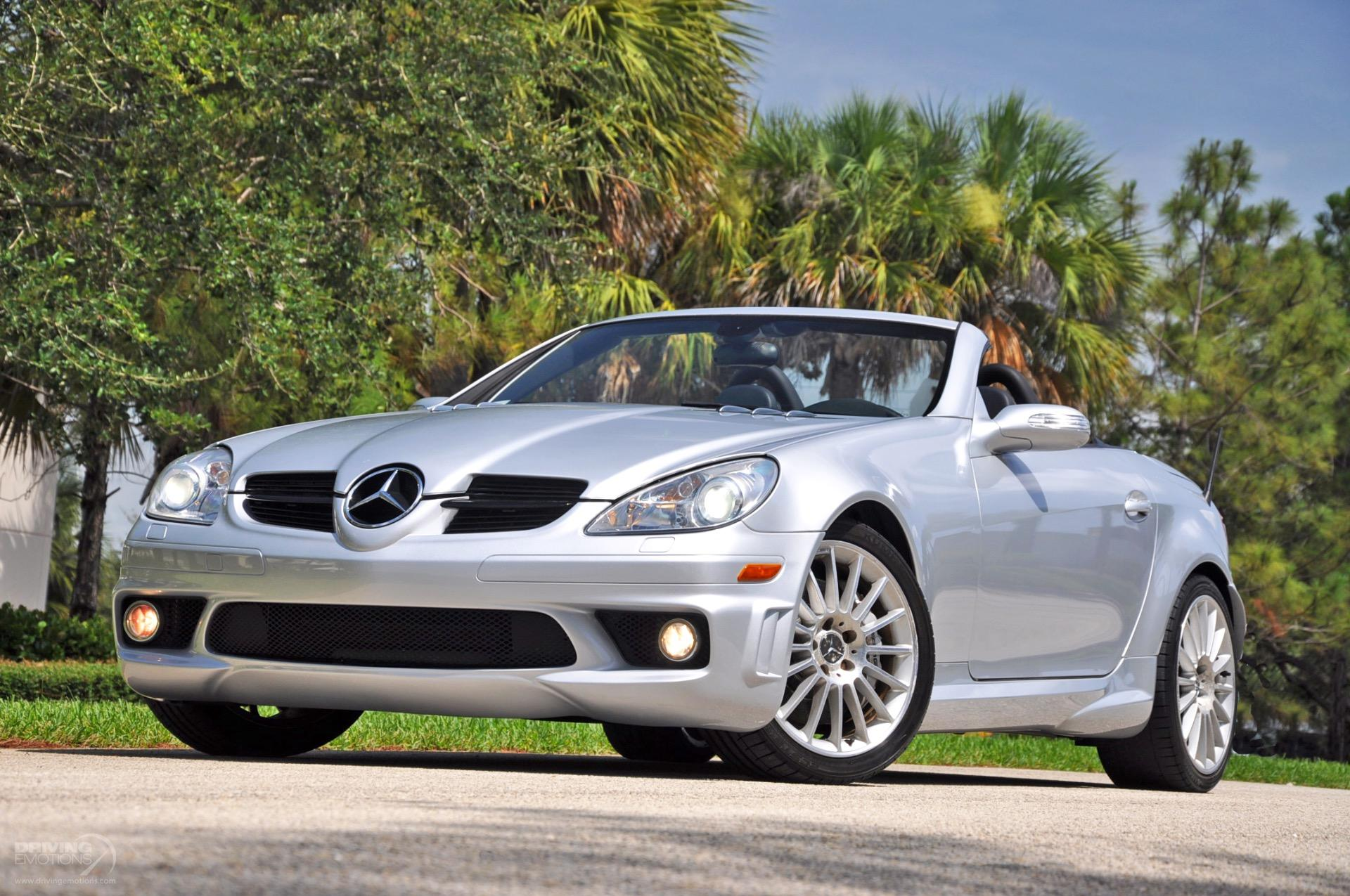 2005 mercedes benz slk55 amg slk 55 amg stock 5967 for. Black Bedroom Furniture Sets. Home Design Ideas