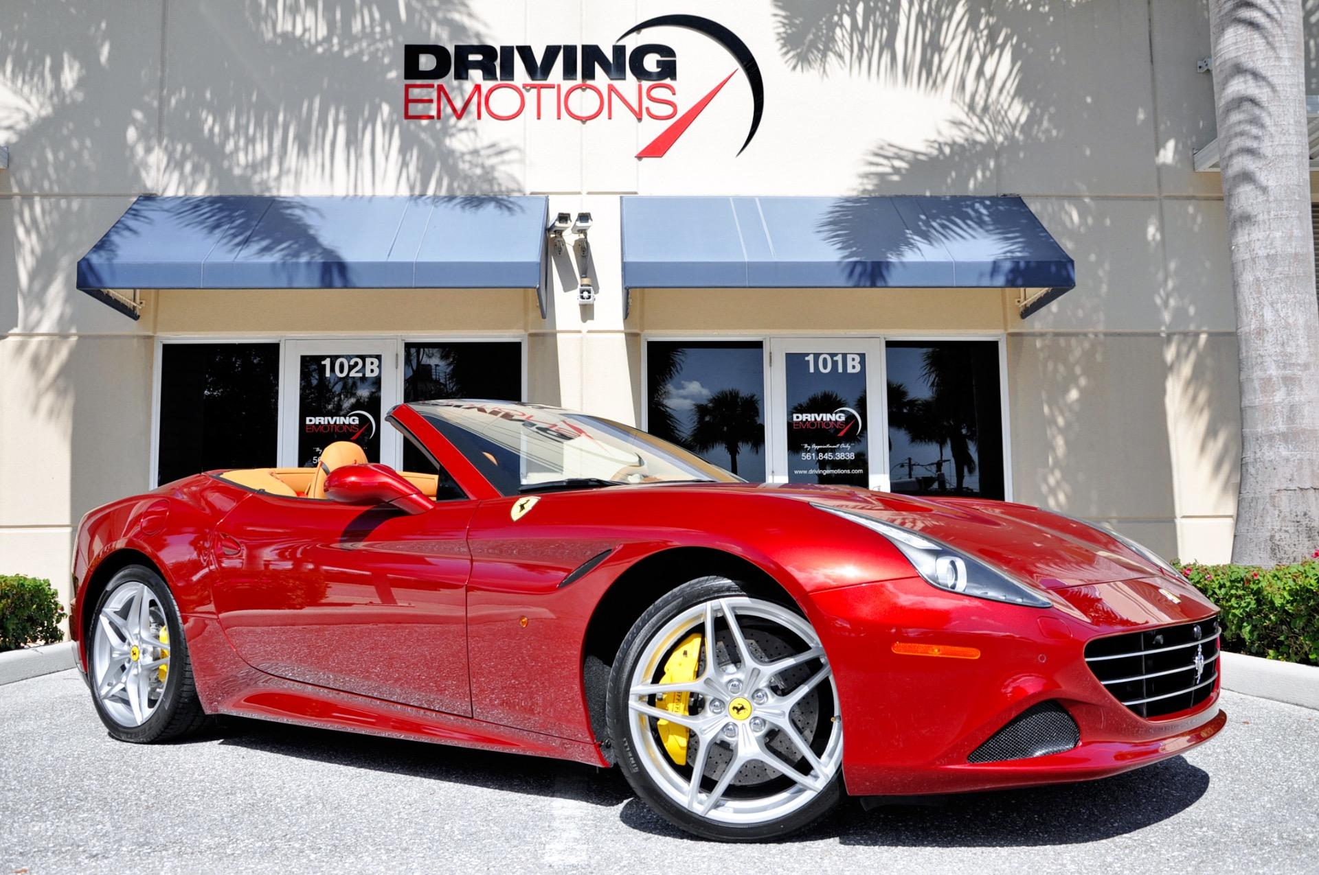 2015 Ferrari California T Stock 6057 For Sale Near Lake Park Fl Fl Ferrari Dealer