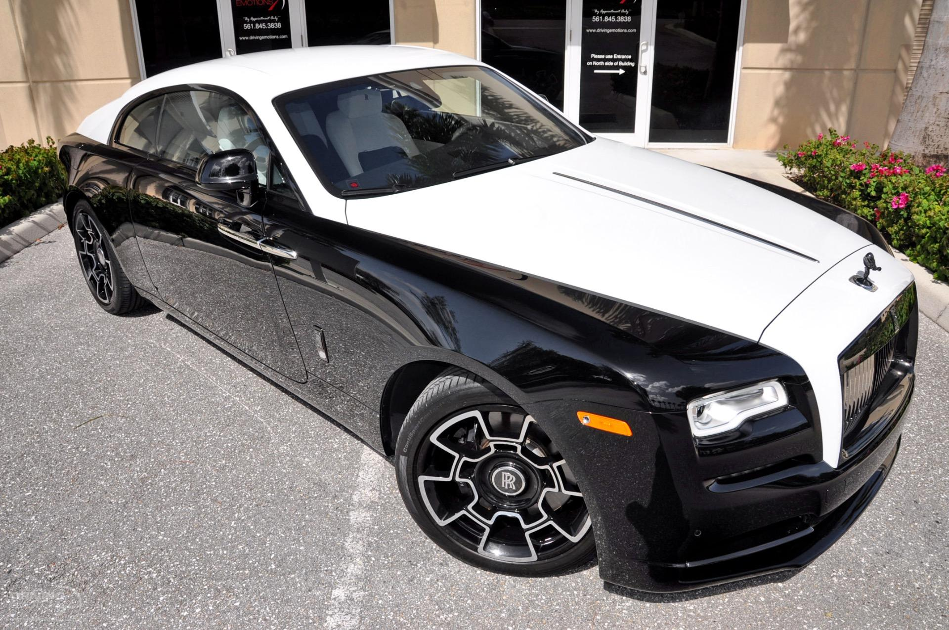 2017 rolls royce wraith black badge edition stock 5975 for sale near lake park fl fl rolls. Black Bedroom Furniture Sets. Home Design Ideas