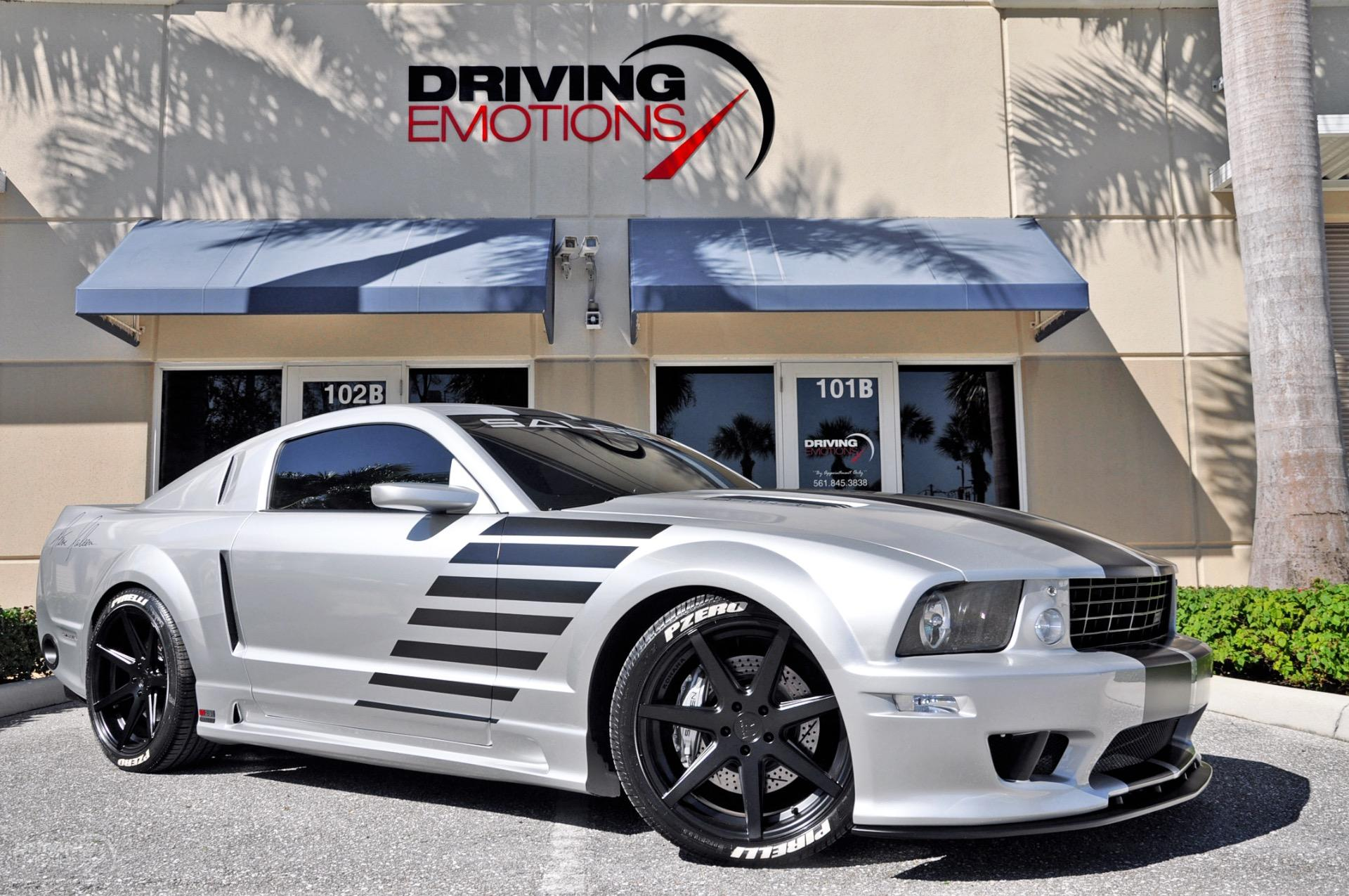Used 2005 ford mustang saleen s281 sc coupe lake park fl