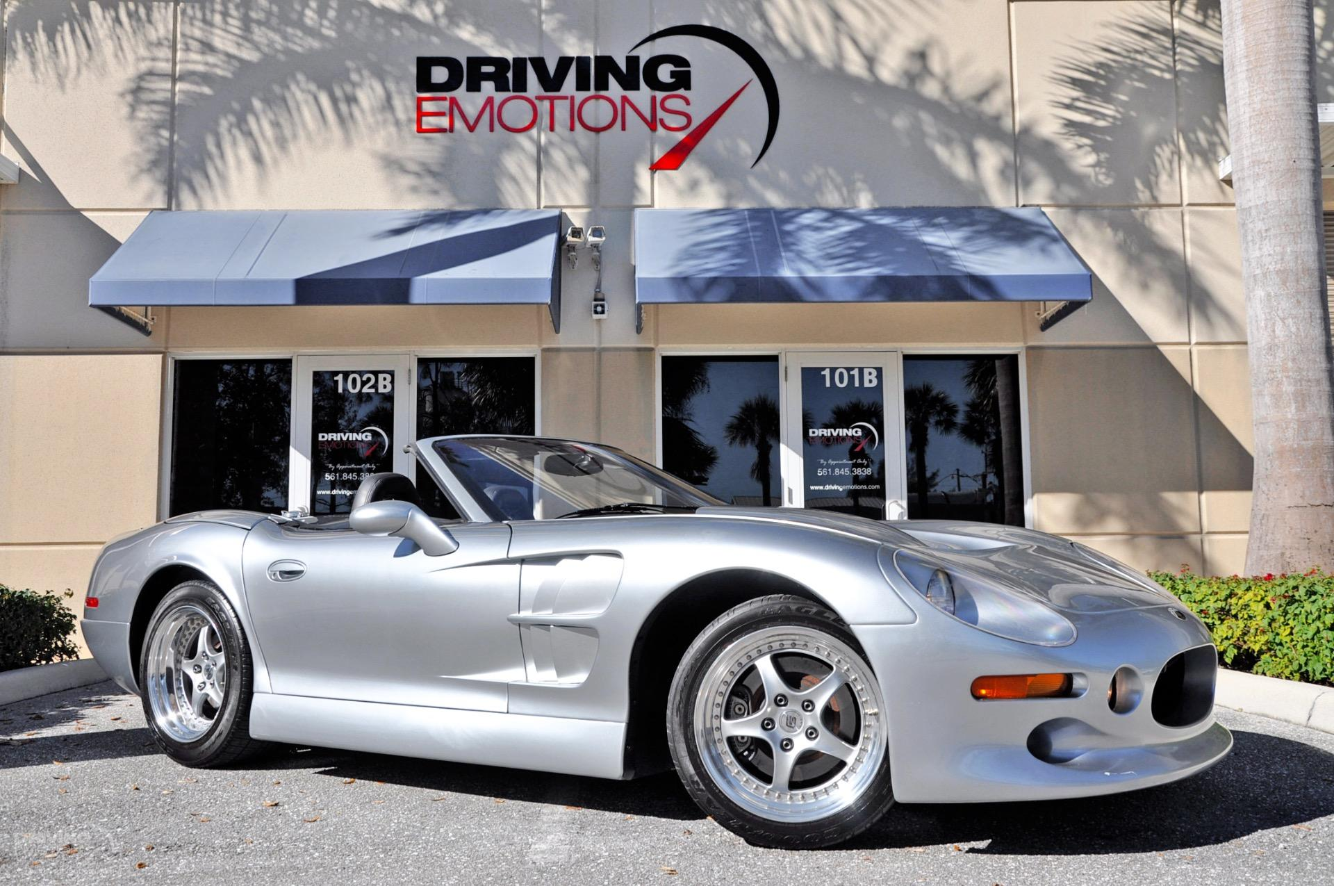 1999 Shelby Series1 Roadster Convertible 2-Door: 1999 SHELBY SERIES 1 ROADSTER! SILVER/BLACK! LOW MILES! RARE! COLLECTOR! 6-SPD!!