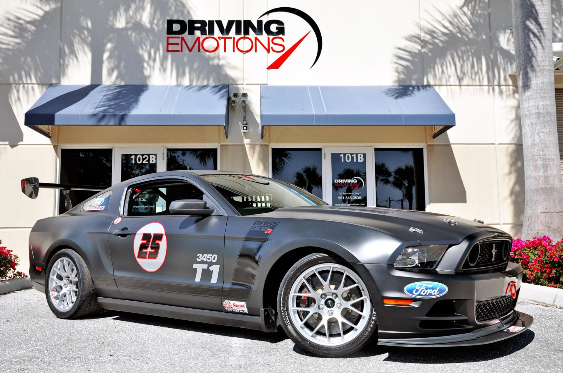 2014 Ford Mustang Boss 302s Race Car Stock 6015 For Sale Near Lake