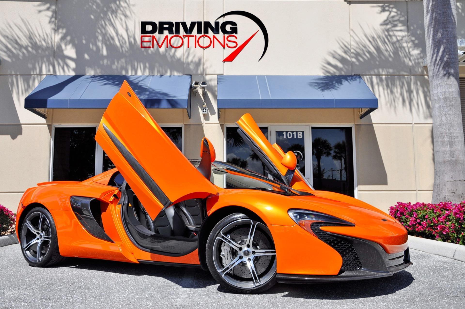 2015 McLaren 650S Spider Stock # 6018 for sale near Lake Park, FL ...