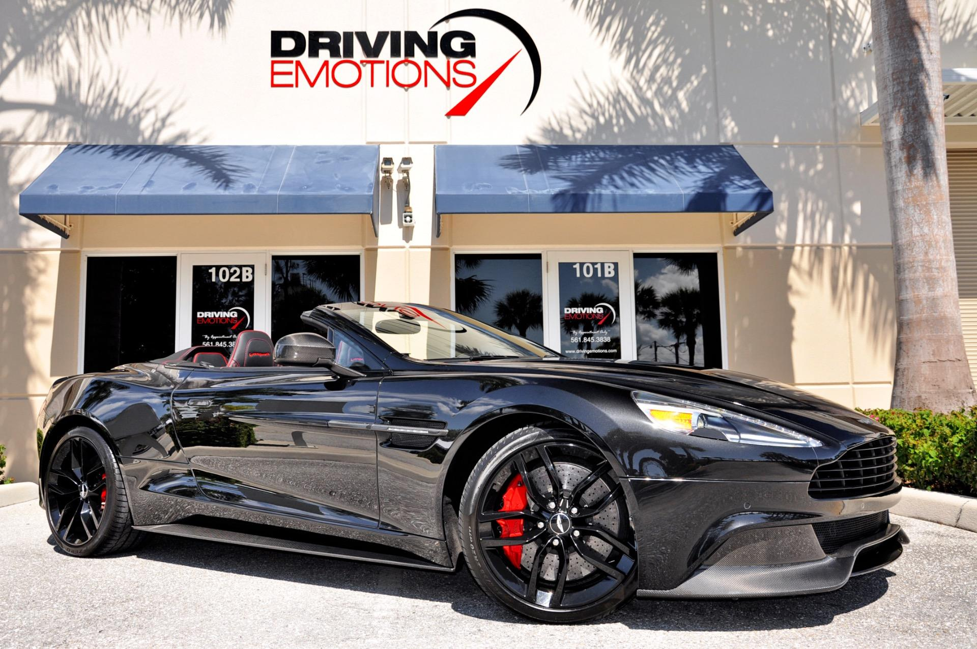 Aston Martin Vanquish Volante Carbon Black Edition Volante - Aston martin dealership florida