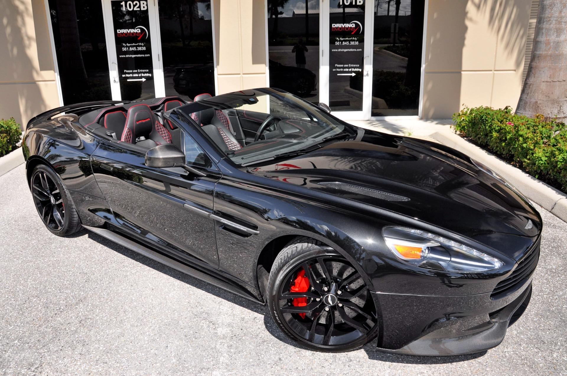 2015 Aston Martin Vanquish Volante Carbon Black Edition Volante Stock 6032 For Sale Near Lake Park Fl Fl Aston Martin Dealer